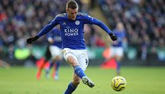 Leicester porazil Sheffield a drží před dotírajícími United vstupenku do Ligy mistrů