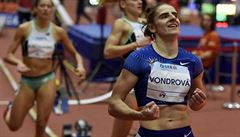 Dvacetiletá Vondrová si na čtvrtce vylepšila osobní rekord, v letošních tabulkách je druhá na světě