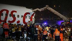 Společnost, které se v Istanbulu rozlomil Boeing, létá i do Prahy. Za poslední dva roky je to její třetí incident