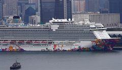 V Hongkongu úřady pustily z karantény lidi z obří výletní lodi. Ta ve městě kotvila více než čtyři dny