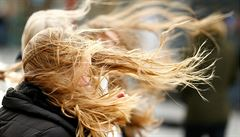Česko zasáhne silný vítr, budou padat stromy. Hrozí také požáry a komplikace v dopravě
