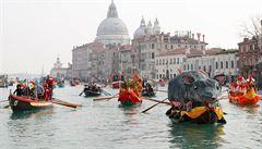 Benátský karneval se letos přesune na internet, kvůli koronavirové epidemii se nemůže uskutečnit