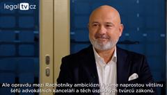 legalTV.cz: Existují tři typy soudců. Zelení, červení a modří, říká Michal Žižlavský