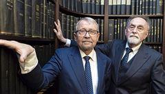 ,Advokacie je profese pro pohodlné spisovatele.' Ritter a Šťastný vstoupili do právnické síně slávy