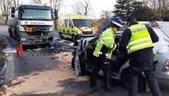 Provoz po nehodě u Slavkova byl obnoven. Jeden muž při ní zemřel, zraněné z místa odnesl vrtulník