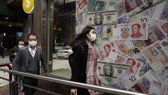 Mezinárodní měnový fond kvůli koronaviru zhoršil výhled čínské i globální ekonomiky