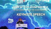 Skupina G20 je připravena řešit ekonomické dopady koronaviru. Na zasedání to uvedl saúdskoarabský ministr financí