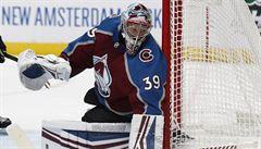 Francouz vychytal v NHL první nulu, Kaut si v soutěži připsal premiérový bod