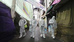 V církvi 'Nové nebe na zemi' se šíří koronavirus. Jihokorejská sekta je spojena s polovinou nakažených