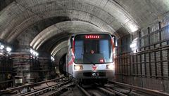 Prahu čekají o Velikonocích dopravní komplikace. Metro C v některých úsecích zastoupí autobusy