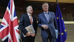 Další kolo jednání s Británií zklamalo, uvedl unijní vyjednavač Barnier. Čas se krátí