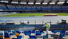 Italský olympijský výbor navrhl měsíční zastavení sportu v zemi. Vláda mu vyhověla