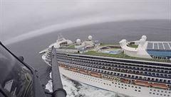 Na výletní lodi kotvící v Kalifornii zaregistrovali 21 případů koronaviru, na palubě je 3500 lidí