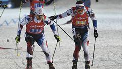 Medaile na závěr kariéry nebude. Šlesingr se rozloučil s biatlonem dvanáctým místem ve štafetě