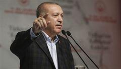 Erdogan 'proklel' Rakousko. Tureckého prezidenta rozčílila izraelská vlajka na budově kancléřství