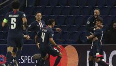 PSG otočil dvojzápas s Dortmundem a postoupil do čtvrtfinále LM, Liverpool senzačně končí