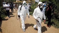 Jeden ventilátor na tři miliony lidí. Situace v Africe může být kritická a povzbudit Islámský stát, varují experti