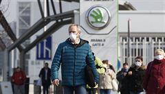 Škoda Auto potřetí prodloužila odstávku výroby. Všechny závody v Česku zůstanou zavřené do 27. dubna