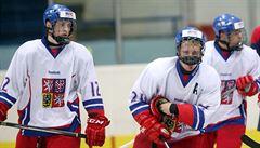 Trenér hokejové osmnáctky: Chceme zbavit kluky české ustrašenosti