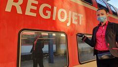 RegioJet od pondělí obnoví dopravu z Prahy do Vídně. Prozatím bude jezdit jeden pár spojů denně