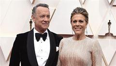 Oscarový herec Tom Hanks a jeho žena se nakazili koronavirem. Slabost je přepadla v Austrálii