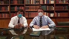 Brazilský prezident Bolsonaro popřel, že je nakažen koronavirem