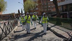 Itálie, Francie a Španělsko zaznamenaly nejnižší přírůstek mrtvých za poslední měsíc. Situace se horší v Rusku