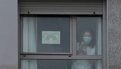Češka v Madridu pravděpodobně prodělala nákazu koronavirem, v nemocnici jí předepsali akorát paralen