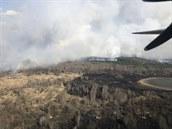 Požár u černobylské elektrárny přetrvává. Nic vážného, hoří tam snad každý druhý rok, říká Drábová