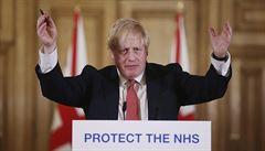 Britský premiér Johnson už není na jednotce intenzivní péče. Přesunuli jej na běžné oddělení