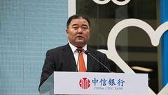 Exprezident CITIC Bank byl zatčen, je podezřelý z korupce. Souzen bude v Číně