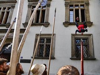 Revoluce propukla útokem davu na Novoměstskou radnici. Ukázalo se, že převrat klidný nebude