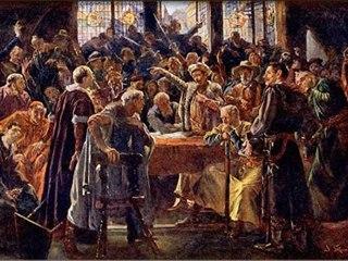 Přelomový sněm se zavázal dodržovat čtyři artikuly pražské a odmítl Zikmundovu českou korunovaci
