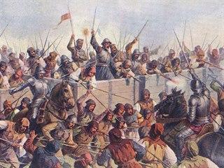 Defenzivní styl vozové hradby se zásluhou husitů prosadil v celé střední Evropě