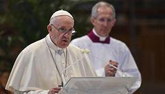 Papež ve velikonočním poselství vyzval svět k ukončení válek a k solidaritě v době pandemie