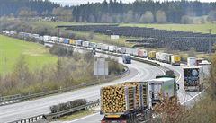Na hraničním přechodu Rozvadov na dálnici D5 se netvoří kolony, pomohly jednodušší kontroly