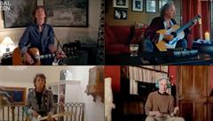 VIDEO: Na osmihodinovém on-line koncertu zahrála z obýváků stovka hudebníků včetně Rolling Stones