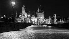 OBRAZEM: Praha apokalyptická. Podívejte se na fotky liduprázdné metropole