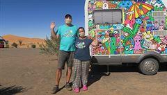 NOMÁDI: 'Život naplno' skončil v marocké karanténě: v poloprázdném kempu na poušti