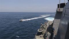 Trump nařídil námořnictvu, aby zničilo veškeré íránské lodě obtěžující americká plavidla