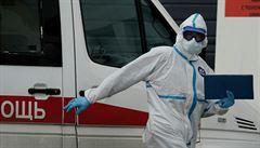 Optimistické Rusko: epidemie ustupuje, údaj o počtu zemřelých je nejnižší od půlky listopadu