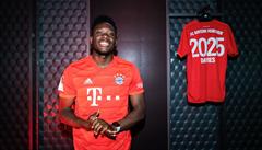 Alphonso Davies: kluk z uprchlického tábora hvězdou Bayernu Mnichov