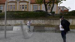 V Řeporyjích instalovali památní desku vlasovcům, byl u toho i starosta Novotný