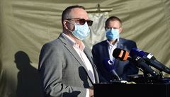 Národní koordinátor testování na covid Hajdúch končí ve funkci. Vadilo mu, že se dozvídal plány z médií