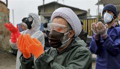 Nová vlna pandemie? Írán ohlásil rekordní nárůst případů koronaviru