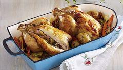 Oběd pro celou rodinu. Upečte šťavnaté kuře podle Jana Punčocháře