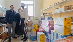 Firmy pomáhají. Developer Getberg podporuje obyvatele lokalit, kde staví. V Unhošti obdaroval domov důchodců