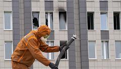 Při požáru v ruské nemocnici zemřelo pět pacientů s koronavirem. Příčinou byl patrně vadný plicní ventilátor