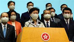 Čínský parlament schválil návrh volebního zákona v Hongkongu