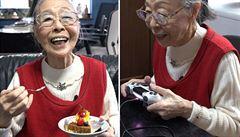 VIDEO: V devadesáti je nejstarší herní youtuberkou světa, Japonka tráví u konzole osm hodin denně
